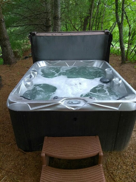 Upstate SC hot tub installation