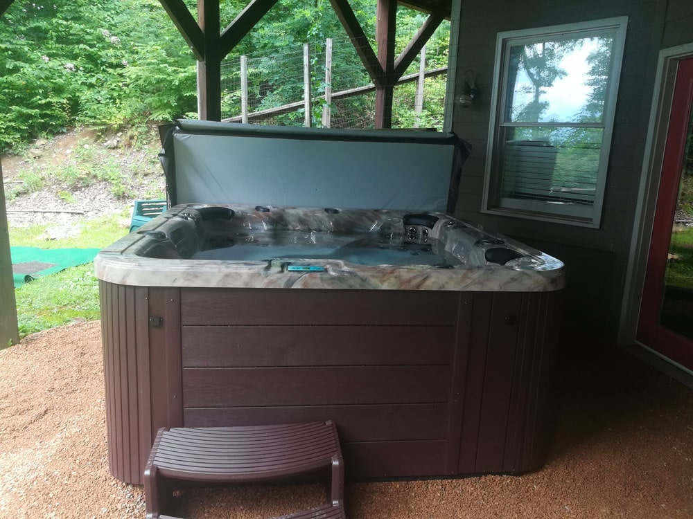 Mountain Leisure Hot Tub installation in NC