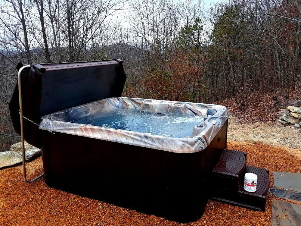 Monroe hot tub installation